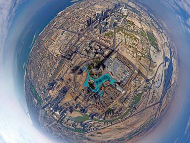 """Dubai nga """"çatia"""" e botës (Foto)"""