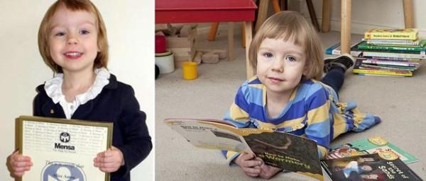 Kjo vogëlushe 3 vjeç është më e zgjuar se Ajnshtajni