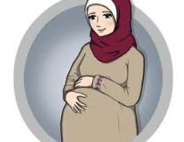 Shpërblimi i gruas shtatzënë në Islam