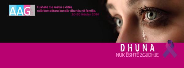 AAG me fushatë sensibilizuese me rastin e ditës ndërkombëtare kundër dhunës në familje