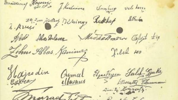 Enigma e dokumentit të Pavarësisë