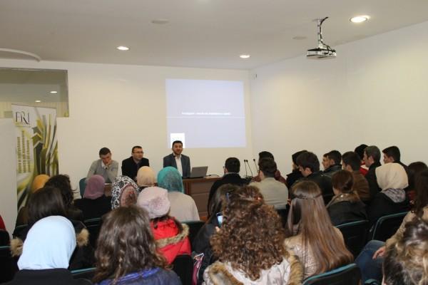 Forumi Rinor Islam vizitohet nga studentët e Shqipërisë