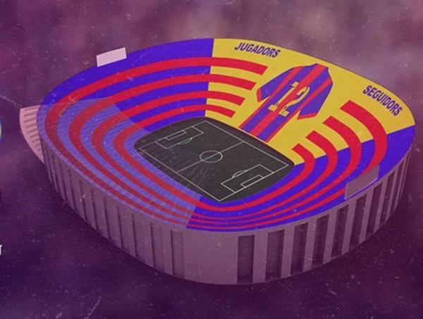 """Ja si do të vishet """"Camp Nou"""" në El Clasico"""