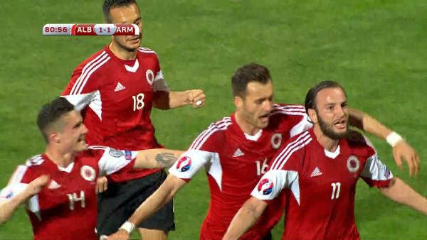 """Shqipëria e madhe përmbys Armeninë, në """"Elbasan Arena"""", 2-1"""