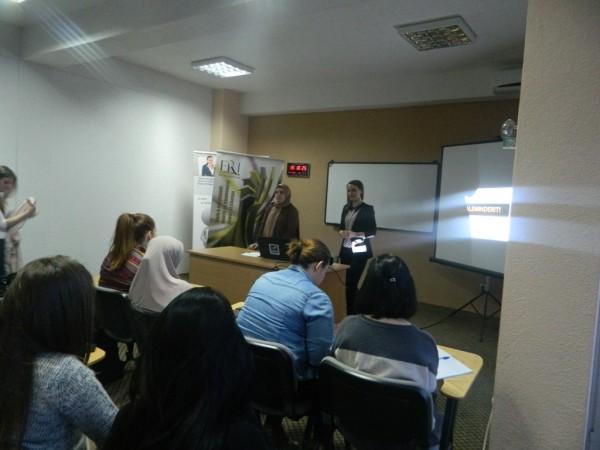 """FRI – Tetovë, Sektori i Femrës organizoi ligjëratën me temë """"Preventimi i sëmundjeve"""""""