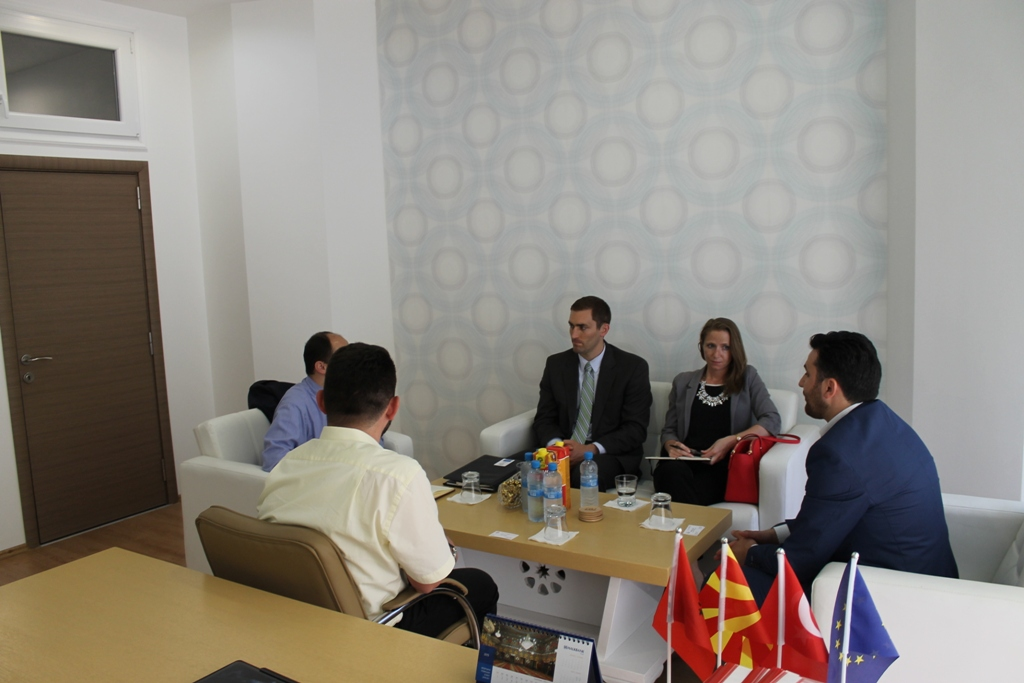 FRI vizitohet nga zyrtar të lartë nga Departamentit Shtetëror i SHBA-ve (1)
