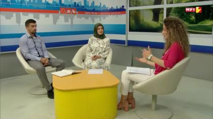"""Paraqitja e aktiviteteve të Ramazanit në emisionin """"Zgjohu me ne"""""""