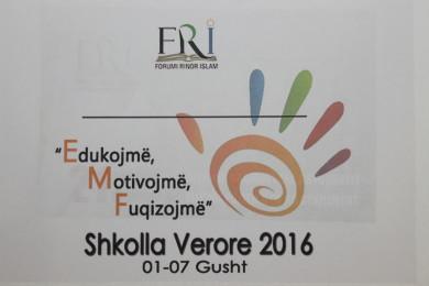 FRI – Dega Shkup hapi Shkollën Verore