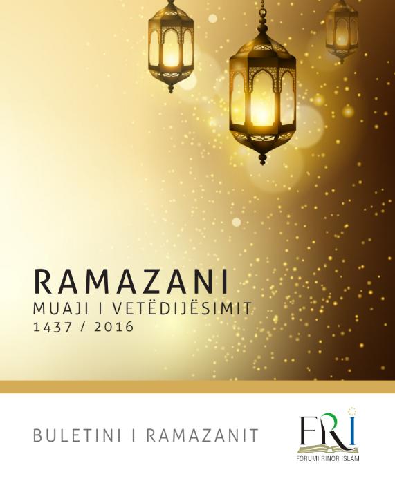Buletini i Ramazanit, 2016