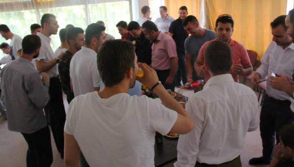 Me rastin e festës së Bajramit, u organizua koktej me aktivistët e Kumanovës